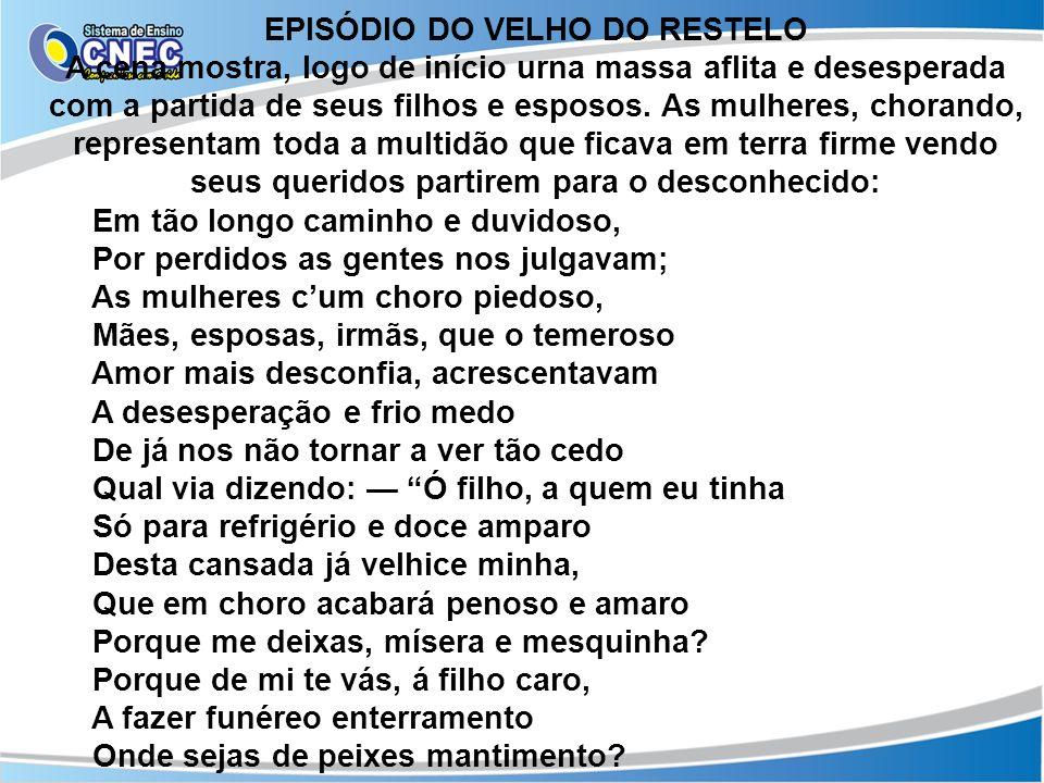 EPISÓDIO DO VELHO DO RESTELO