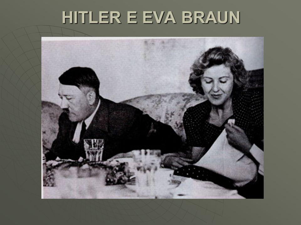 HITLER E EVA BRAUN
