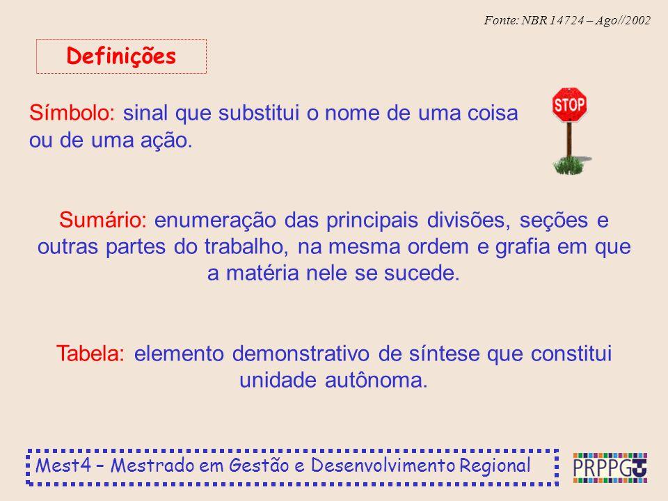Definições Símbolo: sinal que substitui o nome de uma coisa ou de uma ação.