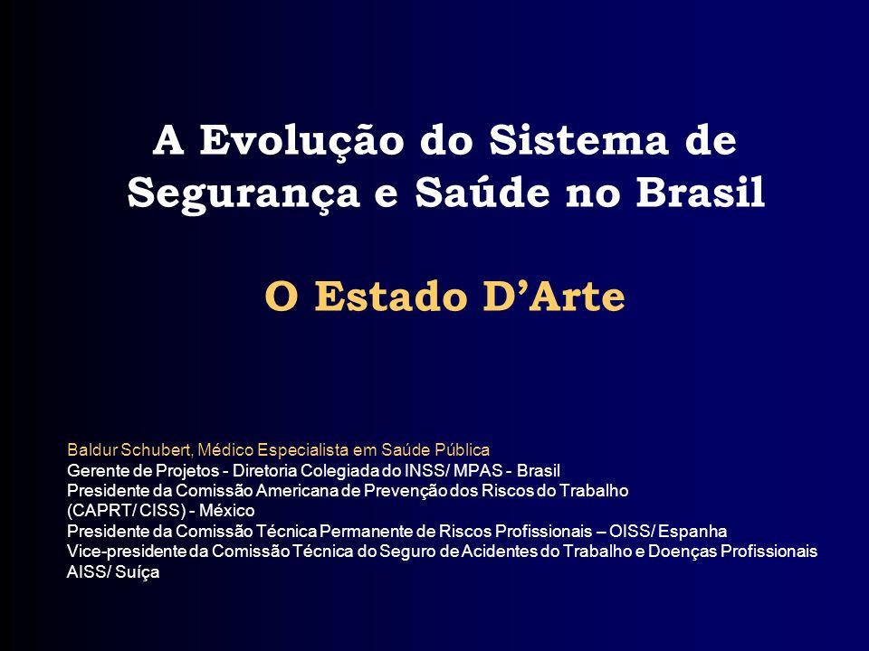 A Evolução do Sistema de Segurança e Saúde no Brasil O Estado D'Arte