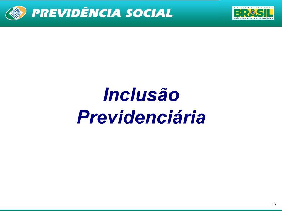 Inclusão Previdenciária