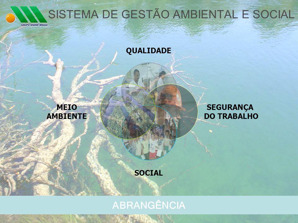 SISTEMA DE GESTÃO AMBIENTAL E SOCIAL