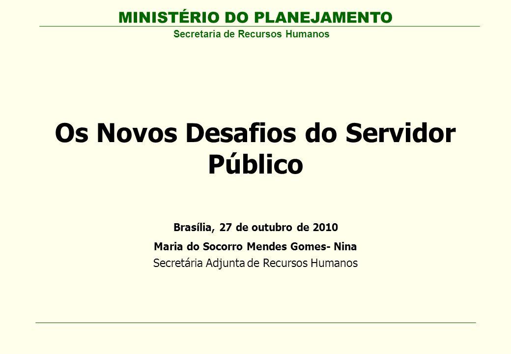 Os Novos Desafios do Servidor Público