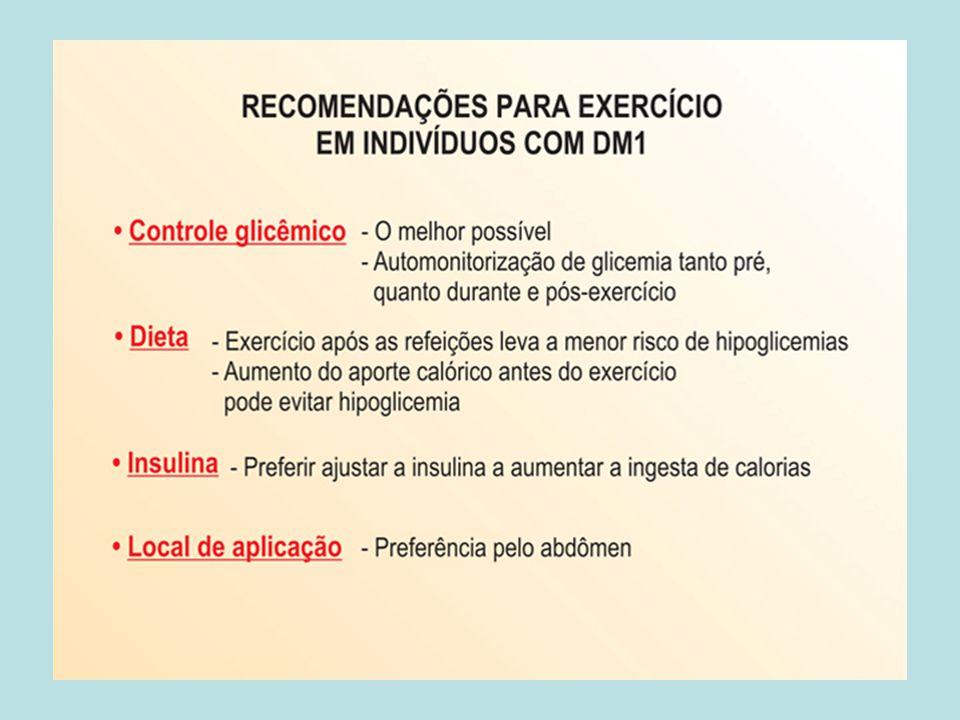 RISCOS DOS EXERCÍCIOS HIPOGLICEMIA IMEDIATA E TARDIA