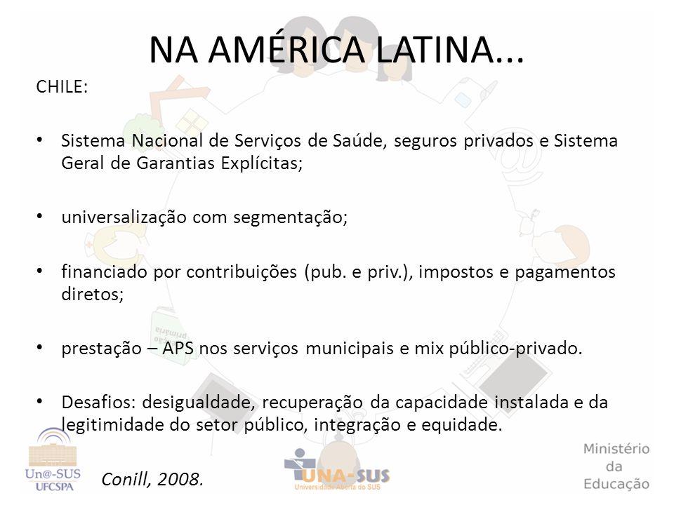 NA AMÉRICA LATINA... CHILE: