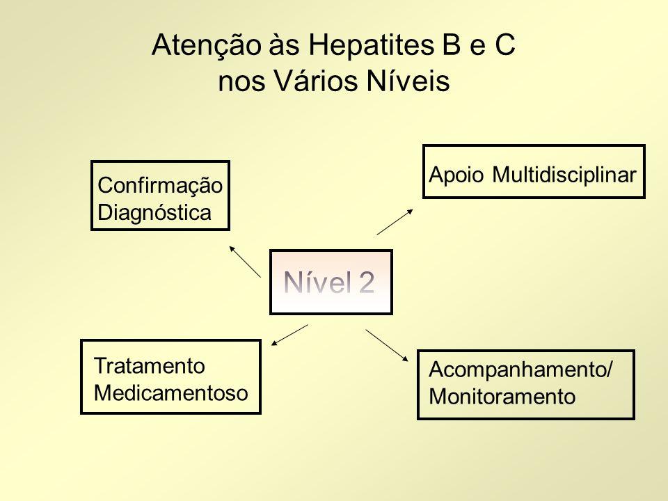 Atenção às Hepatites B e C nos Vários Níveis