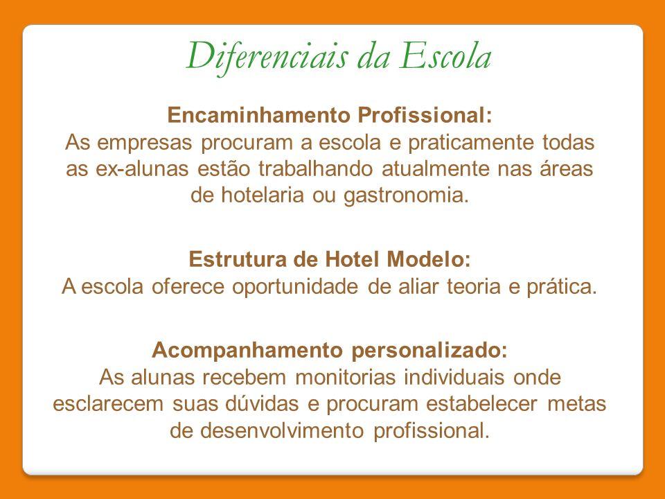 Estrutura de Hotel Modelo: Acompanhamento personalizado: