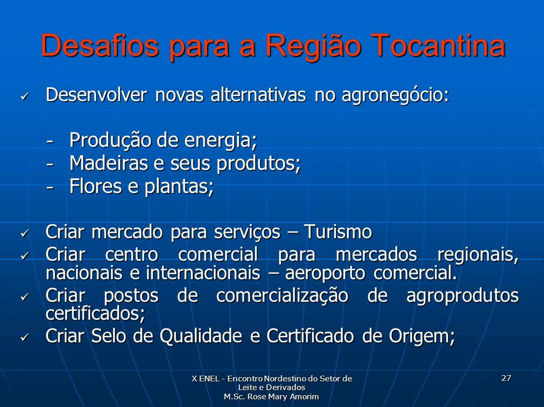 Desafios para a Região Tocantina