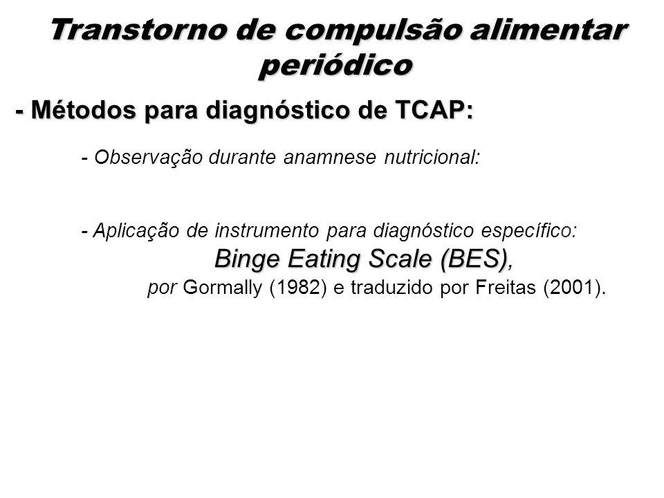 Transtorno de compulsão alimentar periódico