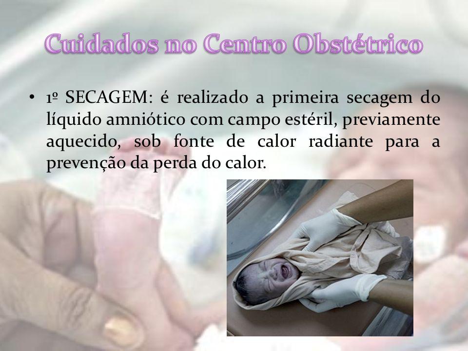 Cuidados no Centro Obstétrico