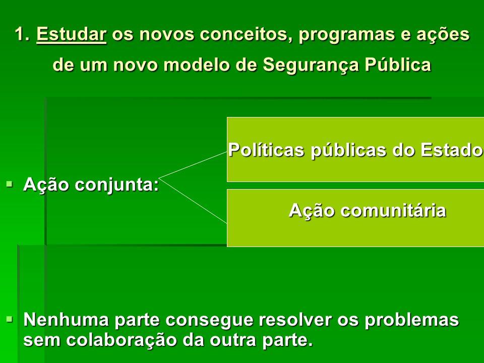 Políticas públicas do Estado