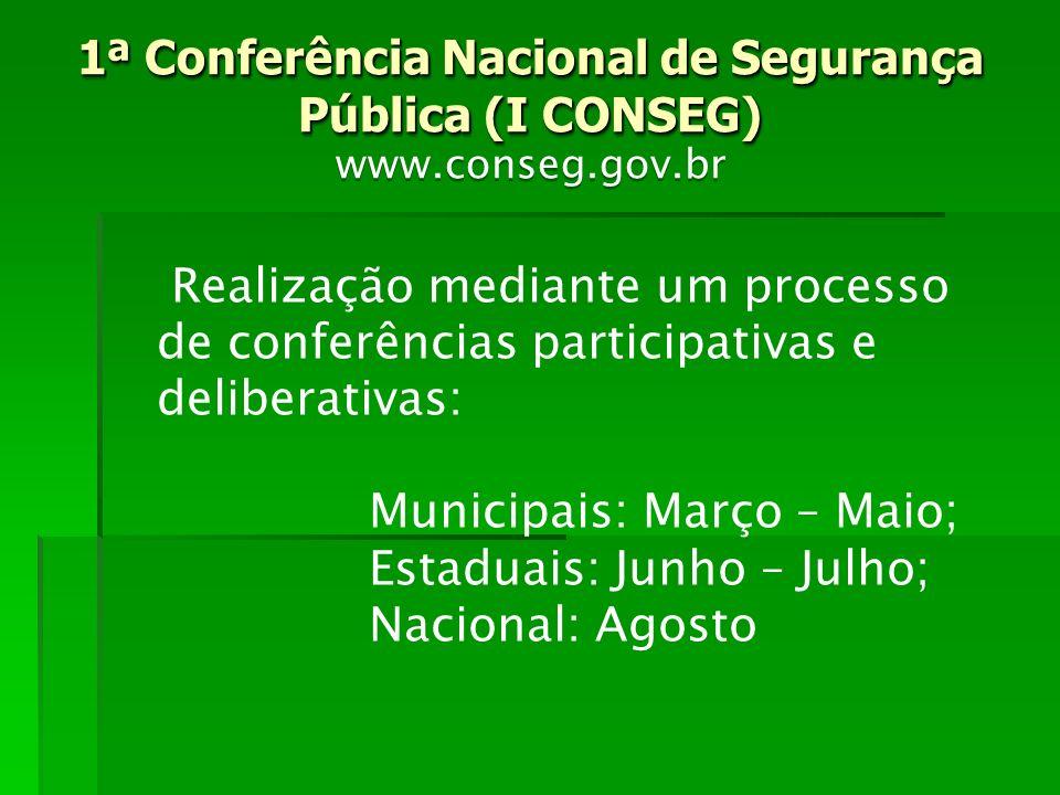 1ª Conferência Nacional de Segurança Pública (I CONSEG)