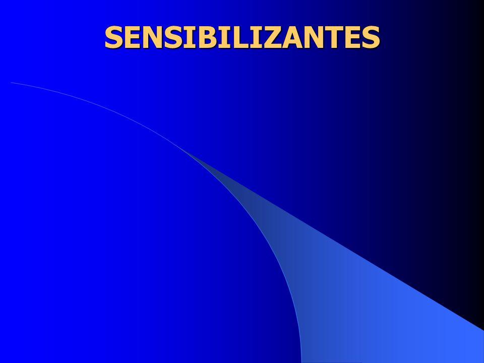 SENSIBILIZANTES