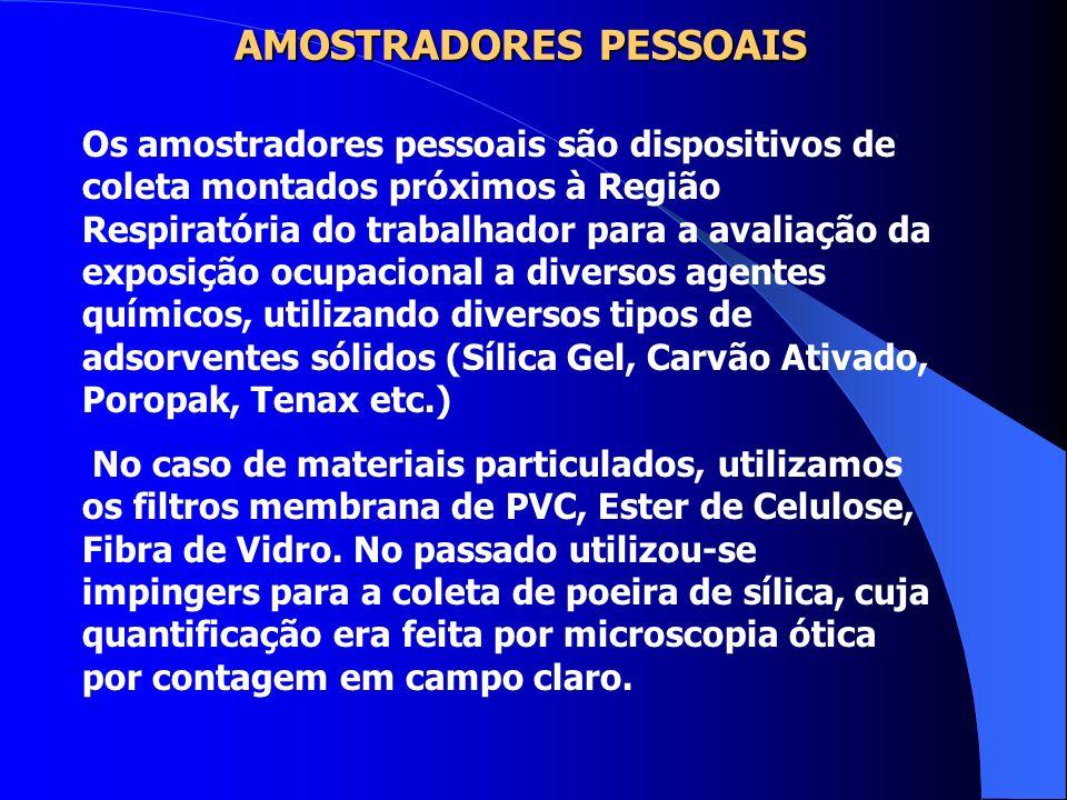 AMOSTRADORES PESSOAIS