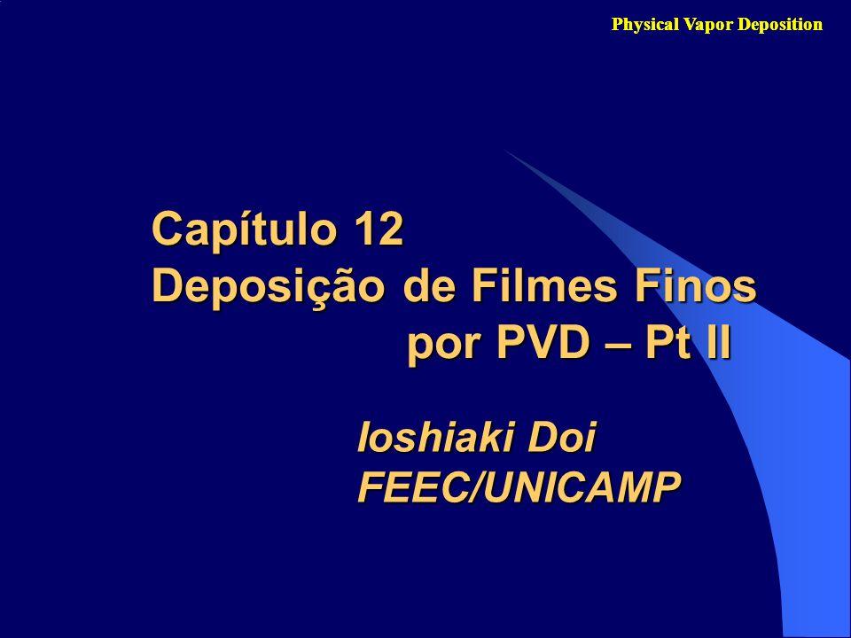 Capítulo 12 Deposição de Filmes Finos por PVD – Pt II