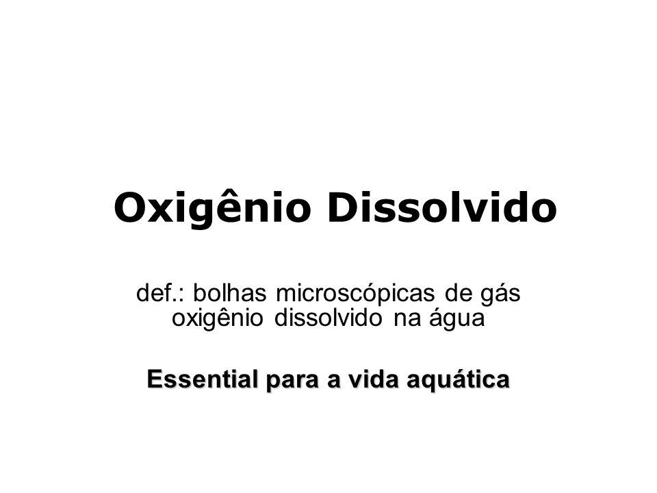 Essential para a vida aquática