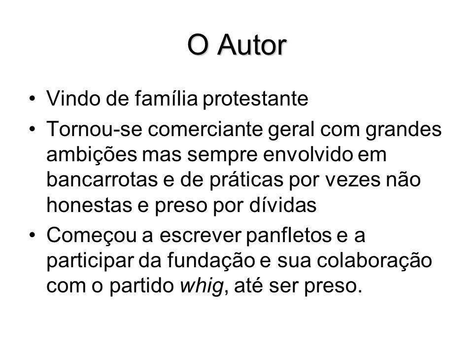 O Autor Vindo de família protestante