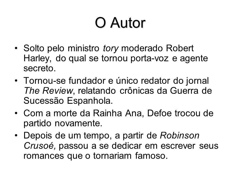 O Autor Solto pelo ministro tory moderado Robert Harley, do qual se tornou porta-voz e agente secreto.