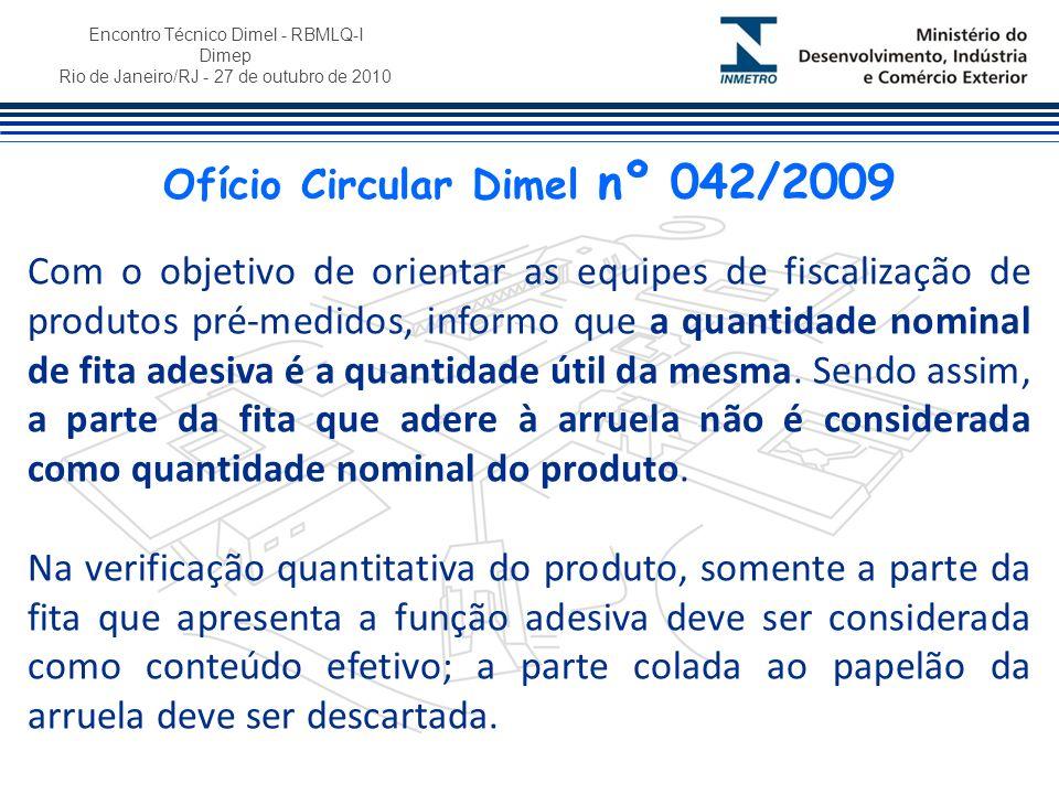 Ofício Circular Dimel nº 042/2009