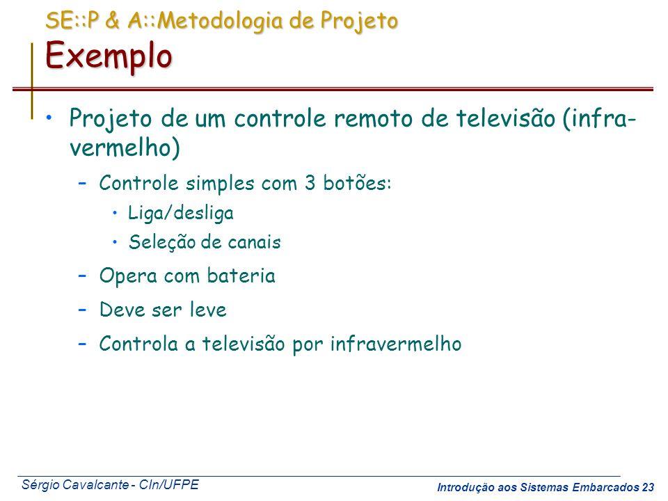 SE::P & A::Metodologia de Projeto Exemplo