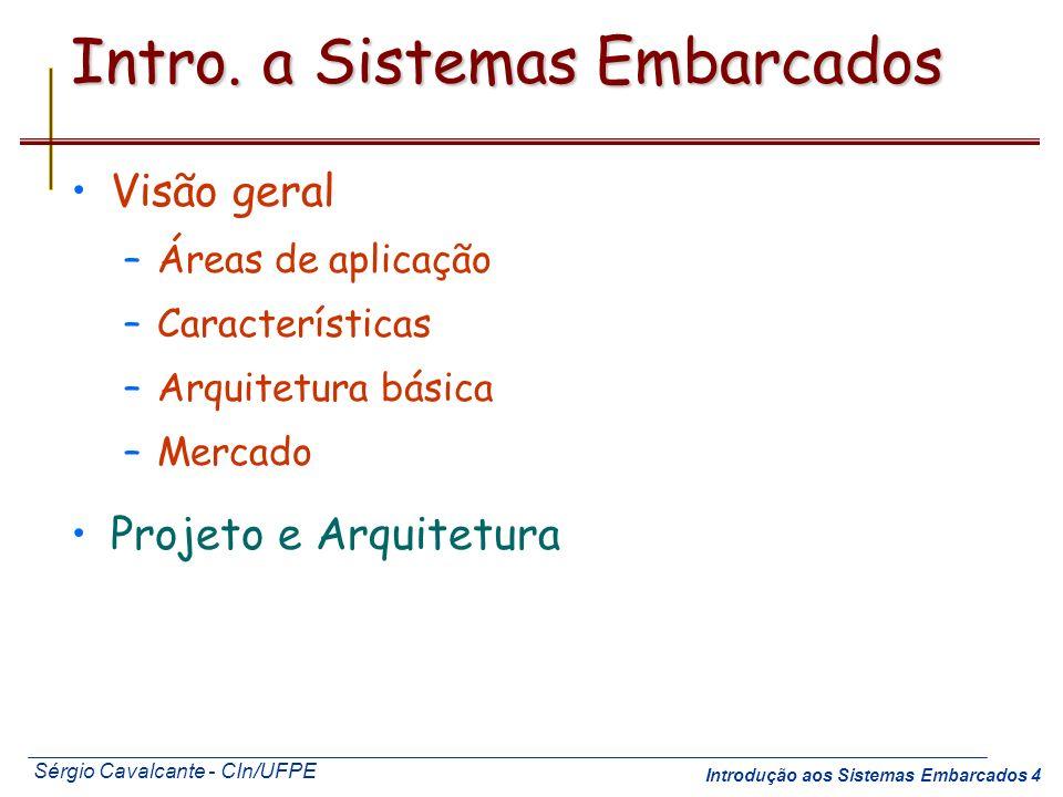 Intro. a Sistemas Embarcados