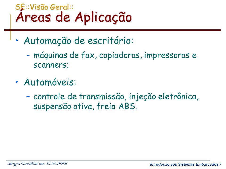 SE::Visão Geral:: Áreas de Aplicação