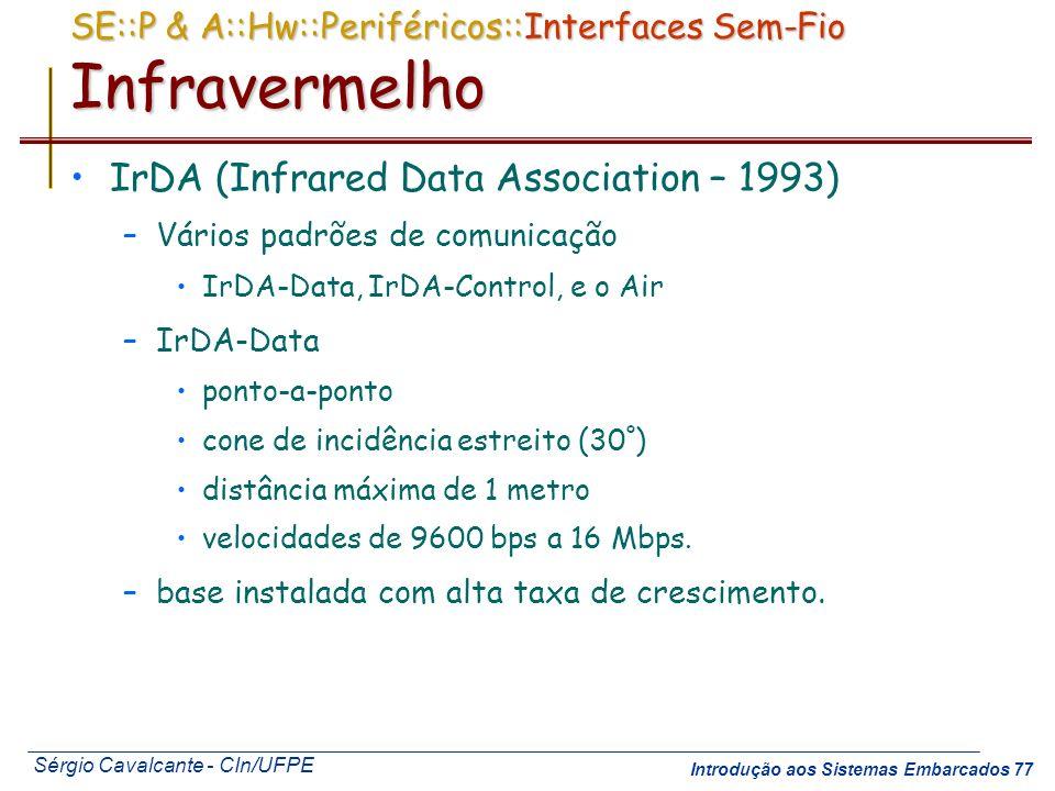 SE::P & A::Hw::Periféricos::Interfaces Sem-Fio Infravermelho