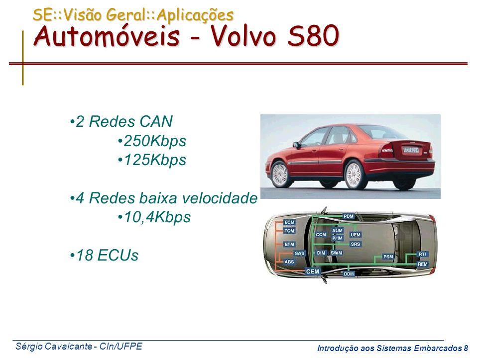 SE::Visão Geral::Aplicações Automóveis - Volvo S80