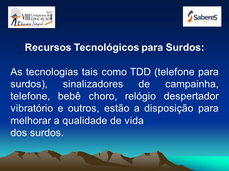 Recursos Tecnológicos para Surdos: