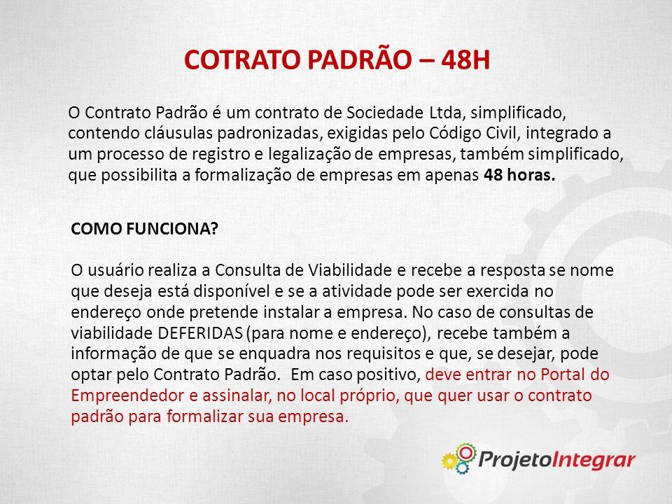 COTRATO PADRÃO – 48H