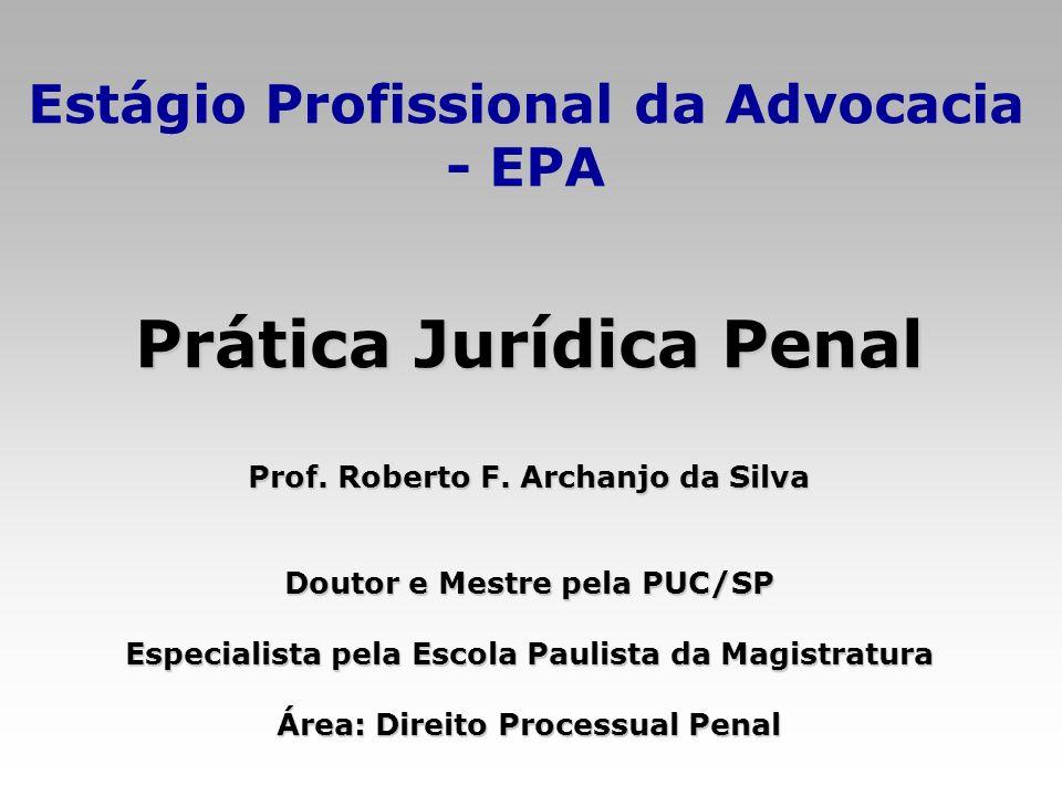 Prática Jurídica Penal