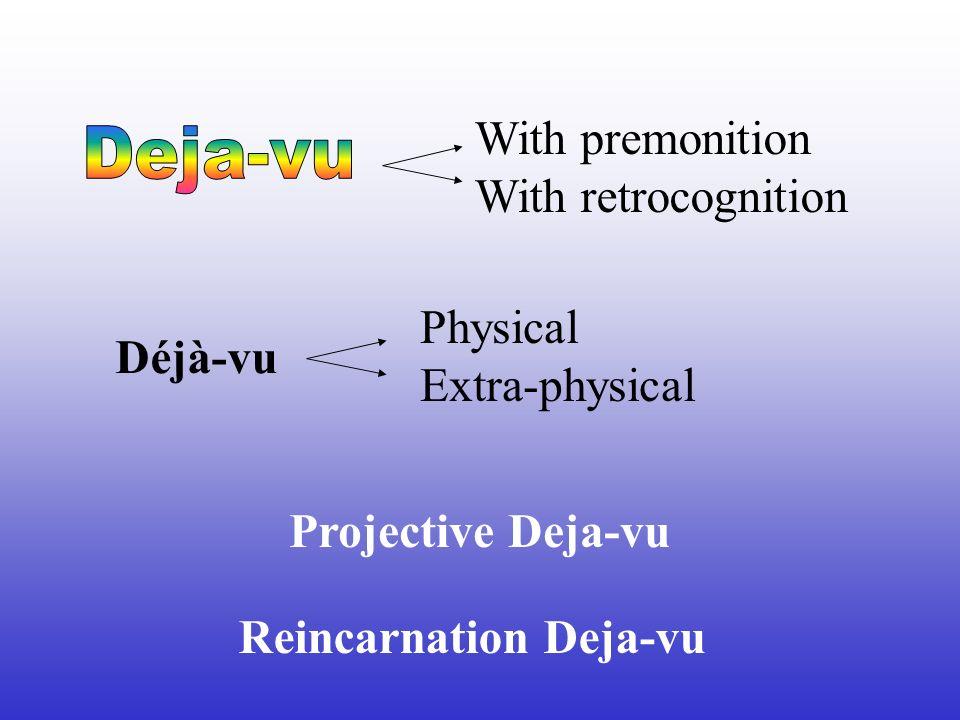 Reincarnation Deja-vu