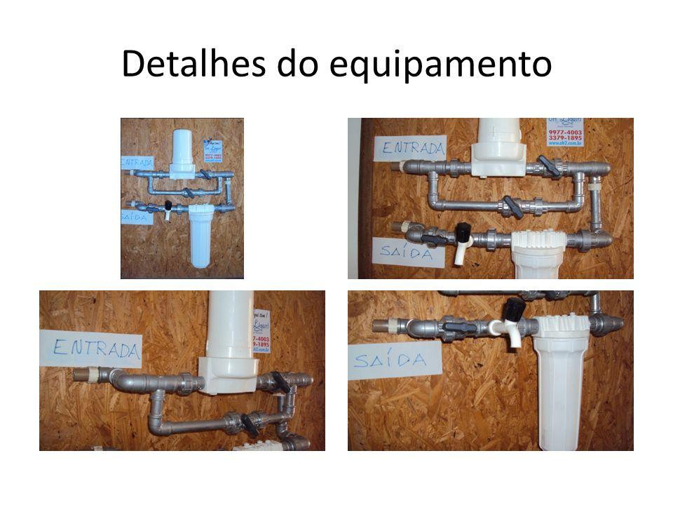 Detalhes do equipamento