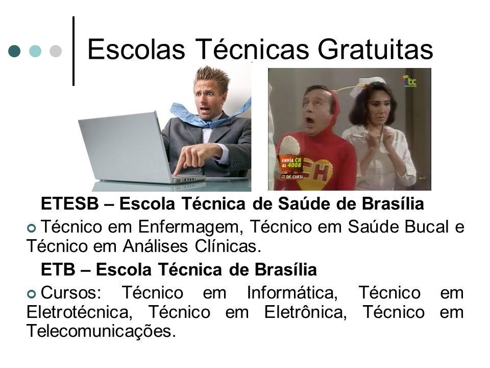 Escolas Técnicas Gratuitas