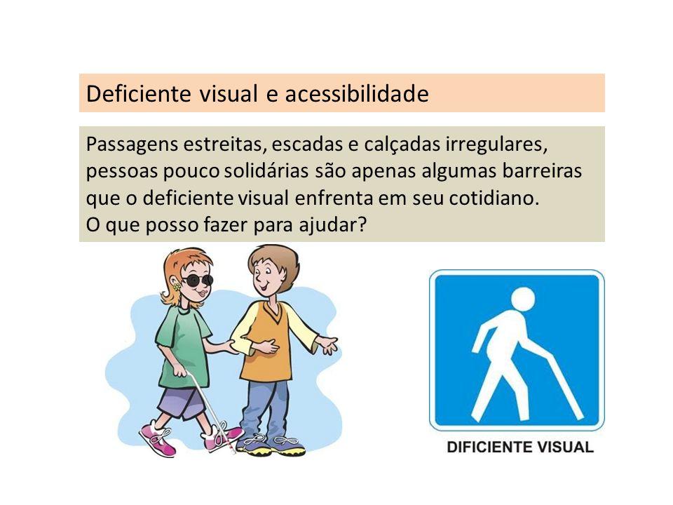 Deficiente visual e acessibilidade