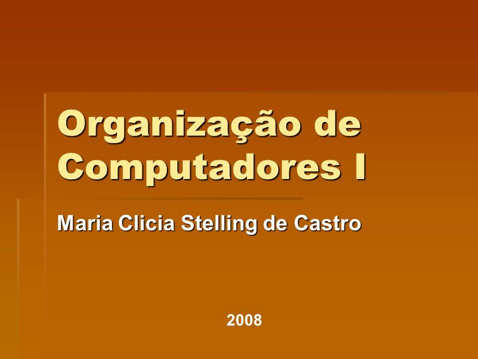 Organização de Computadores I
