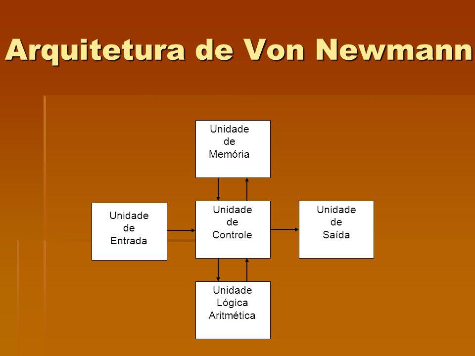 Arquitetura de Von Newmann