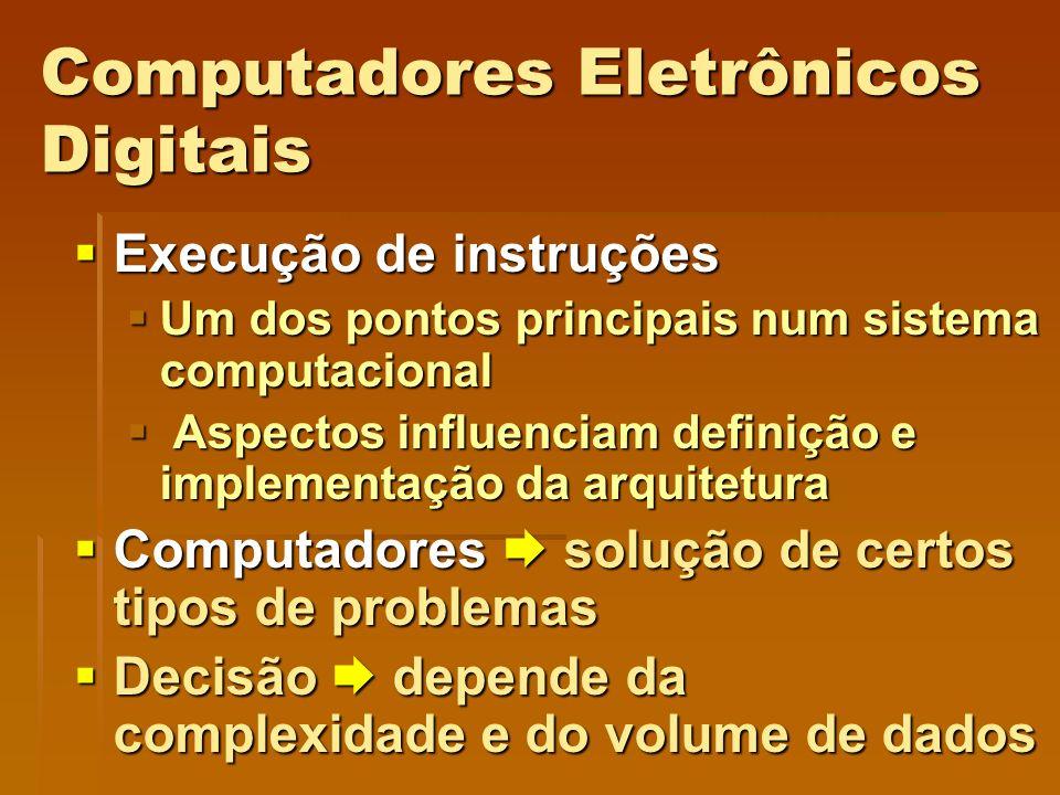 Computadores Eletrônicos Digitais