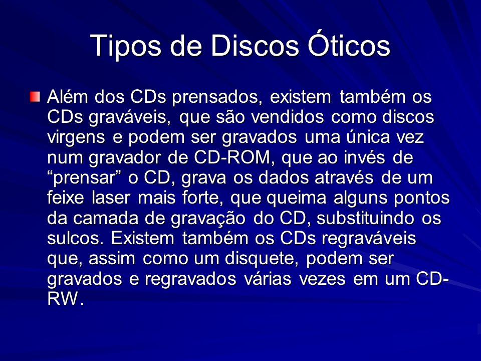 Tipos de Discos Óticos