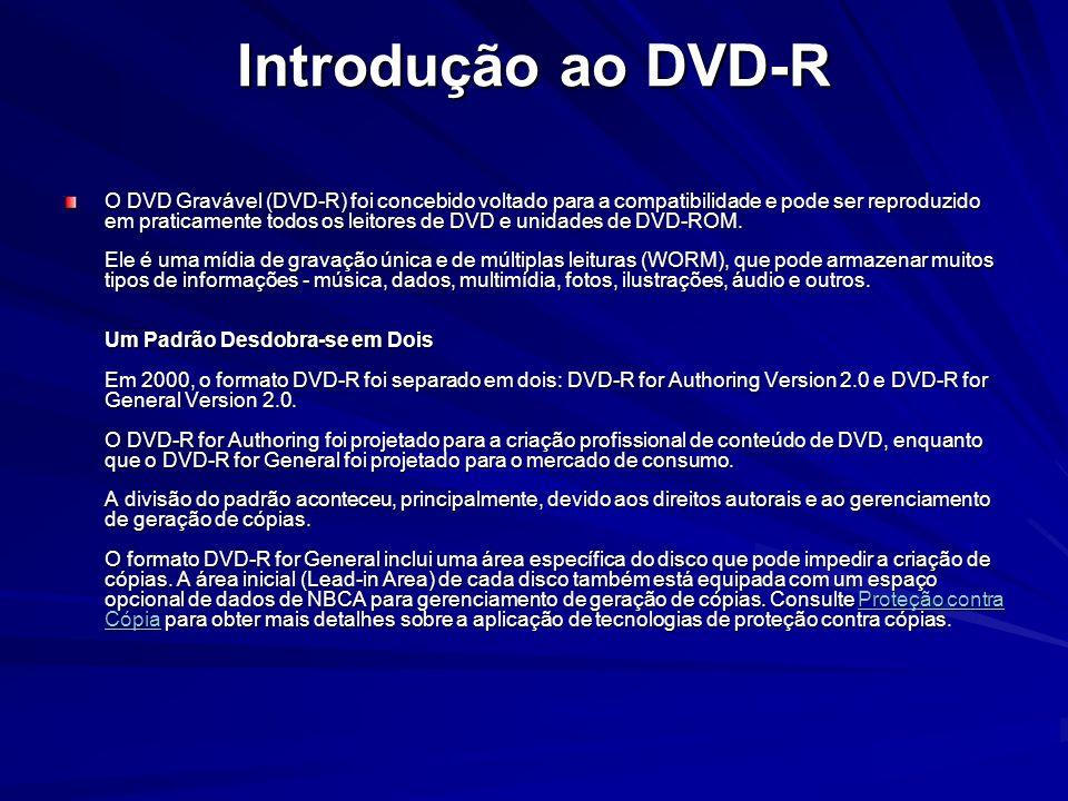 Introdução ao DVD-R