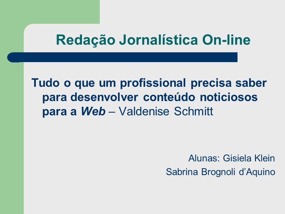 Redação Jornalística On-line