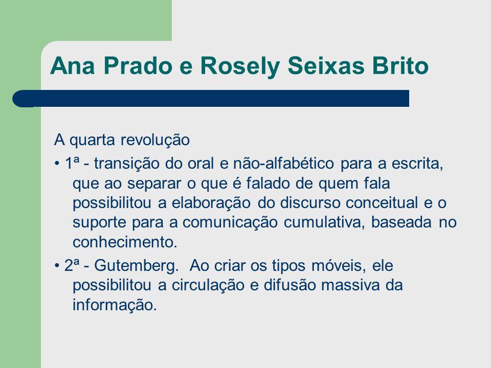 Ana Prado e Rosely Seixas Brito