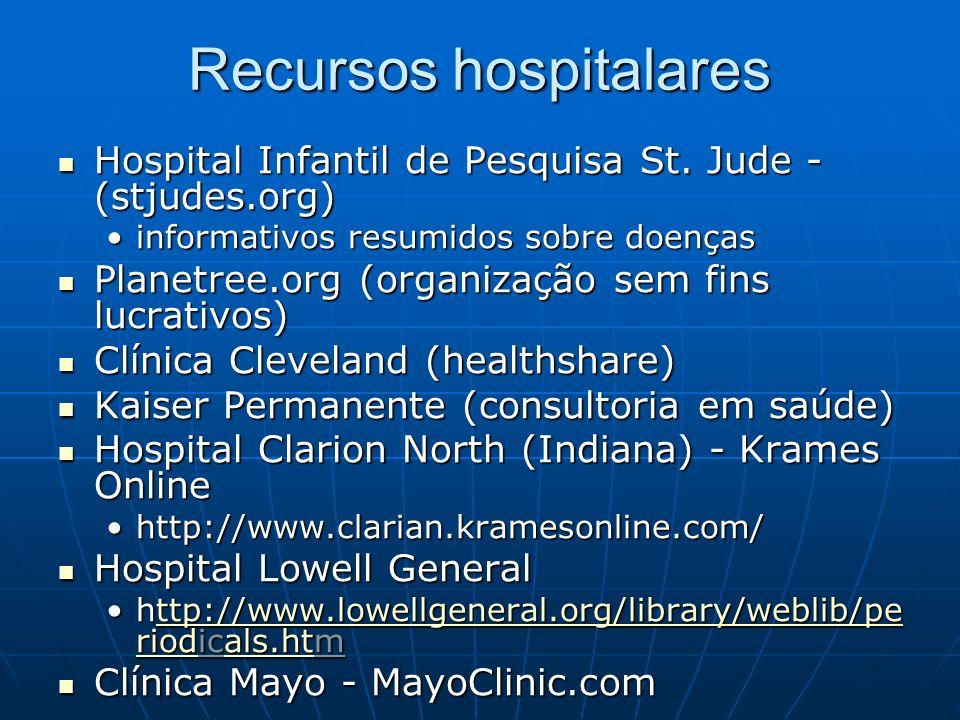 Recursos hospitalares