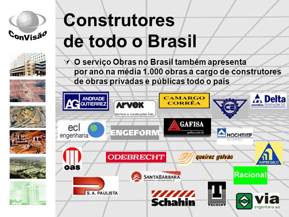 Construtores de todo o Brasil