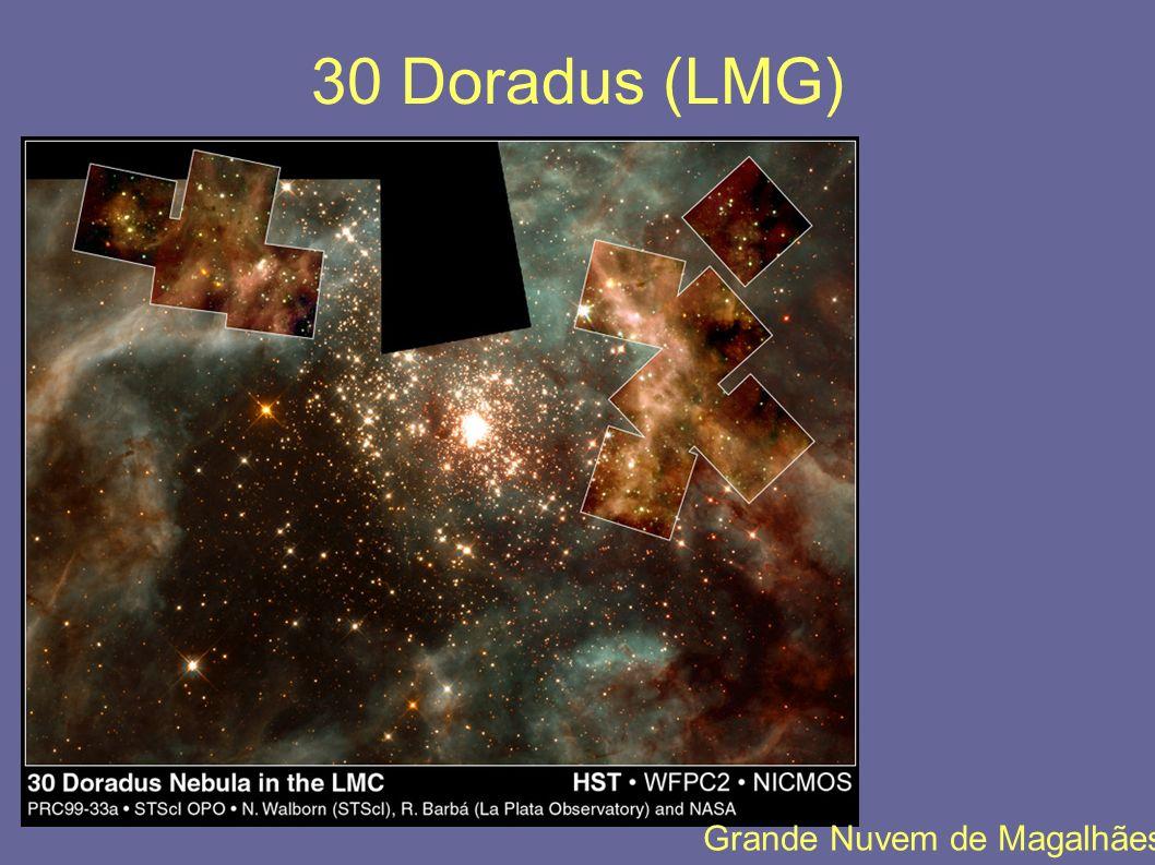30 Doradus (LMG) Grande Nuvem de Magalhães