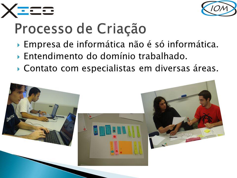 Processo de Criação Empresa de informática não é só informática.