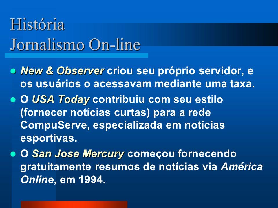 História Jornalismo On-line