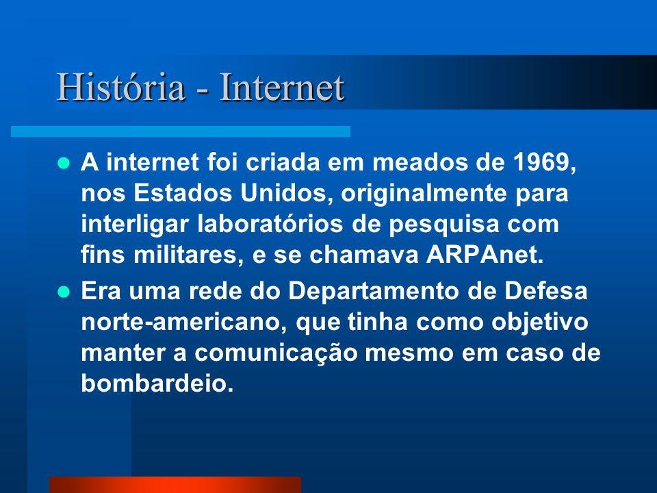 História - Internet