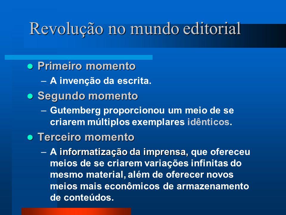 Revolução no mundo editorial