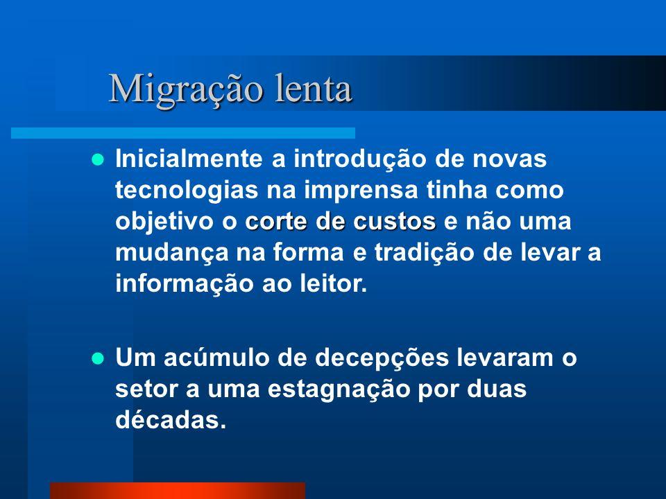 Migração lenta